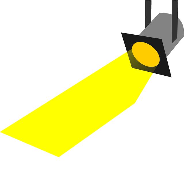 Spotlight; Bildquelle: pixabay.com