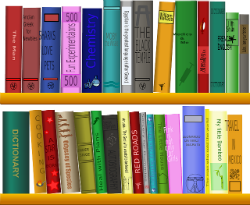 Bücherregal; Bildquelle: www.pixabay.com