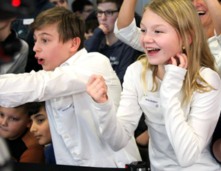 Spannendes Finale bei der FIRST LEGO League