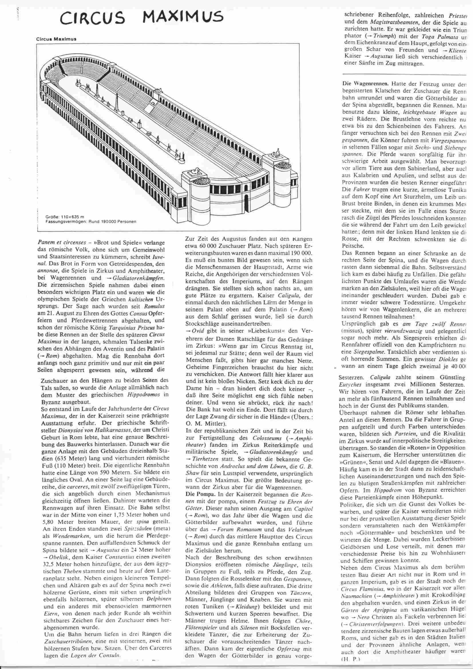 Rom-Skriptum: Seite 26-Der Circus Maximus A - schule.at