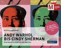 Bildauszug: Andy Warhol, Mao-Tse-Tung, 1972, Siebdruck Albertina, Wien. Dauerleihgabe der Österreichischen Ludwig-Stiftung für Kunst und Wissenschaft © The Andy Warhol Foundation for the Visual Arts, Inc. / Licensed by Bildrecht Wien.