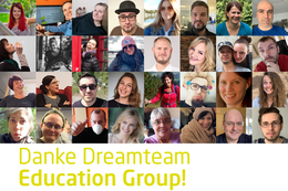 Volle Power + Teamspirit + Begeisterung = DREAMTEAM Education Group!