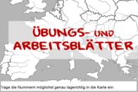 topographie europa bungs und arbeitsbl tter edugroup. Black Bedroom Furniture Sets. Home Design Ideas