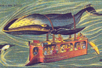 A Whale-Bus: Jean Marc Cote (Wikimedia Commons, Public Domain)