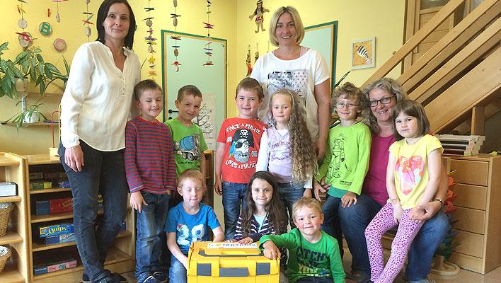 Bilinguale Bildung Franzoesisch im Kindergarten