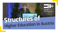 Heribert Wulz: The Austrian Higher Education Area
