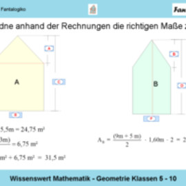 Mathematik: Wissenswert Mathematik: Geometrie Klassen 5 - 10
